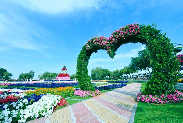 Dubai miracle garden 187 dubai miracle garden location map