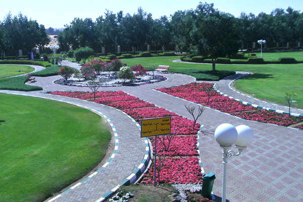 Islamic Gardens And Landscapes Akar landscaping dubai miracle garden 2 columns al faqa park and its surrounds were developed by carrying out soft landscape hard landscape irrigation works civil works lighting system garden workwithnaturefo