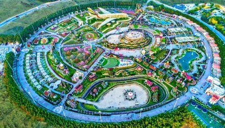 Islamic Gardens And Landscapes Akar landscaping dubai miracle garden 2 columns dubai miracle garden workwithnaturefo